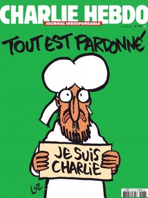 """Savaitraščio """"Charlie Hebdo"""" viršelis"""