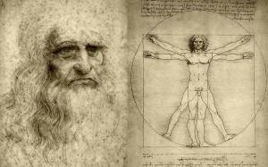 Leonardo da Vinci iliustracija
