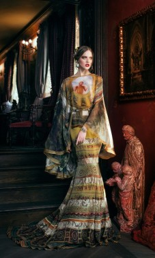 Meno kūriniai virto išskirtinio grožio suknelėmis