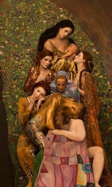 Gustavo Klimto paveikslai atgyja pasitelkus gyvus modelius (N-18)