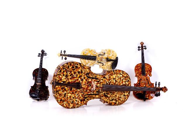 Amber quartet