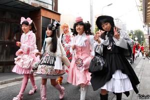 Harajuku merginos /tokyofashion.com archyvo nuotr.