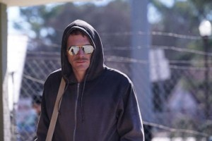 "Serialo ""Manhunt: Unabomber"" kadras"