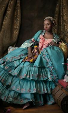 """""""Perrašant istoriją"""": juodaodės moterys Renesanso Europos aristokračių suknelėse [FOTO]"""