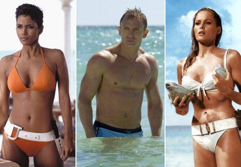10 įspūdingiausių Džeimso Bondo merginų